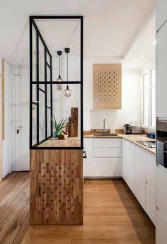 Cozinha Planejada Apartamento Pequeno: Como Montar, Dicas 60 FOTOS