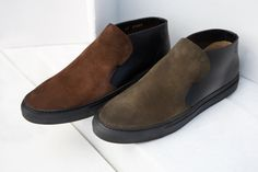 BUTTERO SHOES WITH SUEDE FOR FALL/WINTER 2015