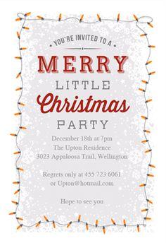 online christmas invitations