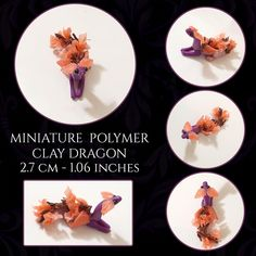 Handmade figurines and plushies. Polymer Clay Dragon, Little Dragon, Clay Art, Plushies, Create Yourself, Etsy Seller, Decorative Plates, Miniatures, Handmade Gifts
