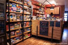The Brooklyn Strategist is a Combination Board Game/Coffee Shop in Carroll Gardens, Brooklyn - Untapped New York Board Game Cafe, Board Games, Coffee Can Crafts, Cheap Coffee Mugs, Cozy Coffee Shop, Coffee Shops, Home Coffee Machines, Nerd Room, Carroll Gardens