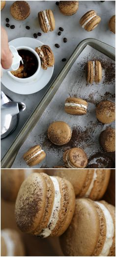 Macchiato Macarons
