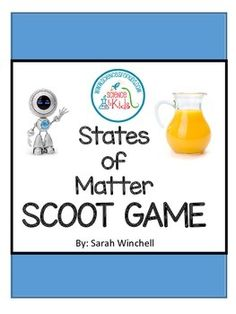 States of Matter Scoot Game {Solids, Liquids and Gases}