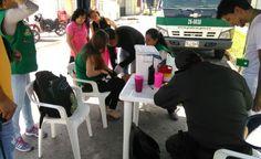 """Policía realiza jornada de vacunación mediante campaña, """"Di no a la rabia canina"""" en Santa Rosa De Cabal"""