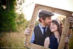 "A ""framed"" wedding announcement. Couple Photography, Engagement Photography, Photography Poses, Wedding Photography, Engagement Couple, Engagement Pictures, Engagement Shoots, Prom Poses, Wedding Poses"