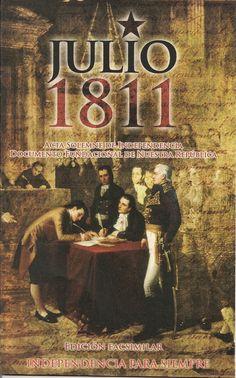 Declaración de Independencia 5 de Julio de 1811