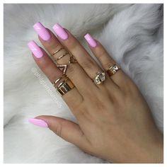 #love #pinknails                                                       …