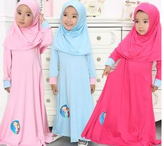 Find More Clothing Sets Information about Aged 6 12TLNICE Girls Muslim Style Dress Girls Dress Girls Long sleeved Dress Exclusive Models Solid Color Pink, Rose red, Blue,High Quality dress party dress,China dress stainless steel watch Suppliers, Cheap dress up china girls from Angel Growth Diary on Aliexpress.com