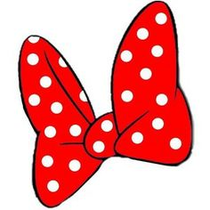 Print out of Minnie's bow to go on the goodie bags :)