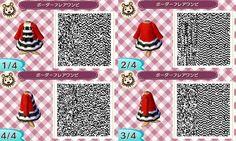 Super cute 'sailor' outfit. qr codes.