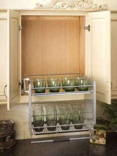 Cabinet Pull-Down Shelving System - RTA Kitchen Cabinets RTAcabinetstore.com 202-210.00