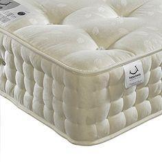 Hy Beds Ambassador 3000 Orthopaedic Mattress Cotton Organic Pocket Sprung New