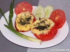 Омлет в помидоре