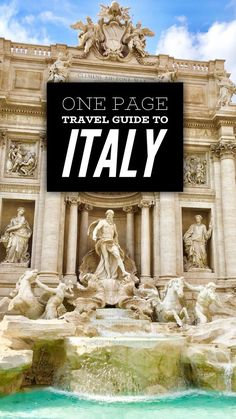 The rustic beauty of Italy is unparalleled. Tourists and avid adventurers alike can attest to this land�s grace, history, and remarkable sense of wonder. Immerse yourself in cities and monuments that stand the test of time or wander the endlessly rolling