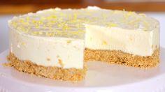 No Bake Lemon Cheesecake Rezept als Back-Video zum selber machen! Ganz einfach Schritt für Schritt erklärt!
