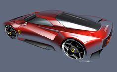 https://www.behance.net/gallery/46968941/Ferrari-Homage-Concept
