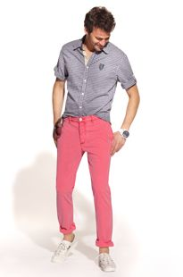 Men: Bright pants How to pull off color | Piperlime