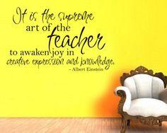 Albert Einstein teacher quote