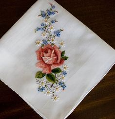 Antique Style: Hanky Primer #3: Embroidered and Petit Point Hankies