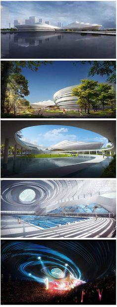 Jingzhou Sports Center By DUO