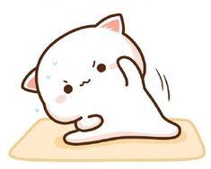 Cute Anime Cat, Cute Bunny Cartoon, Cute Cartoon Images, Cute Kawaii Animals, Cute Cartoon Wallpapers, Cute Bear Drawings, Cute Cartoon Drawings, Cute Kawaii Drawings, Gif Mignon