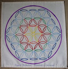 HEALTH & WELL-BEING Colorful Flower of Life by CrystalVibrations06