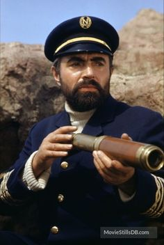 """Captain Nemo played by James Mason in Leagues Under the Sea"""" based on the novel of the same title by Jules Verne. James Mason, Nautilus Submarine, Eleanor Of Aquitaine, Tragic Hero, Lausanne, Steampunk Festival, Sea Captain, Leagues Under The Sea, Sci Fi Films"""