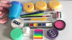 Face Painting Made Easy PART 1 - Discover all the useful face painting supplies for beginners as well as detailed product information and my favourite brands...