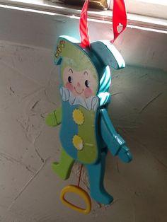 FisherPrice Jolly Jumping Jack Vintage Toy