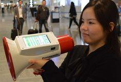 Panasonic ma megafon, który automatycznie tłumaczy mowę