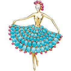 Van Cleef &Arpels Fine jewelry of ballet Collection Van Cleef Arpels, Van Cleef And Arpels Jewelry, High Jewelry, Unique Jewelry, Vintage Jewelry, Jewelry Design, Bleu Turquoise, Turquoise Jewelry, Color Cielo
