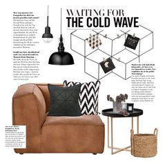 """""""Waiting for the cold wave"""" by ghomecollection ❤ liked on Polyvore featuring interior, interiors, interior design, home, home decor, interior decorating, Andrew Martin, .wireworks, Pottery Barn and Lene Bjerre"""