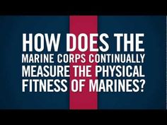 Do you know how the Marine Corps measures the physical fitness of Marines? Watch and learn about the physical fitness test (PFT) and the combat fitness test (CFT). Military Videos, Military Photos, Job Career, Career Advice, Marine Corps, Physical Fitness, Marines, Did You Know, Physics