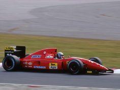 Nicola Larini  Ferrari 1992