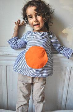 Magic pocket blouse  Instant download  Pdf pattern 12m von ManiMina