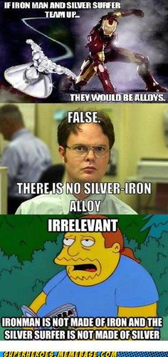 IT'S TRUE THOUGH. He's not made of Iron, peeps!!