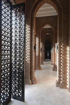 Gilles&Boissier - 2015 - Mandarin Oriental Spa - Marrakech Mandarin Oriental, Marrakech, Spa Interior, Best Interior, Hotel Corridor, Patterned Furniture, Genius Loci, Famous Interior Designers, Tropical Architecture