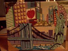 "Bueno Cigar Box Purse ""New York, New York"" theme #Bueno #EveningBag"