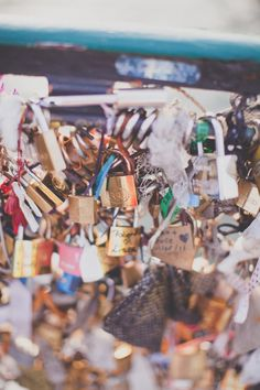 Love locks on the bridge near the île Saint-Louis, Paris Ile Saint Louis, St Louis, Love Lock, Paris Travel, Switzerland, Locks, Bridge, Blog, Dreams