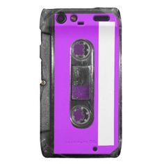 Choose Your Color Cassette Motorola Droid RAZR Cases