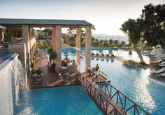A glamorous, all-inclusive, five-star stay on a curved bay at the top of Rhodes, with sea views