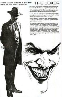 Batfiles: The Joker •Alex Ross