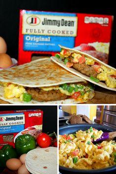 Texas Style Breakfast Quesadillas