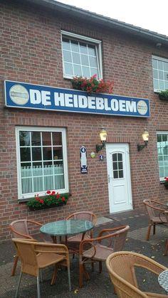 Vooraanzicht Cafe de Heidebloem