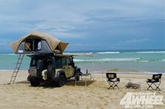 Feather Lite Rooftop Tent. I need to get one of these.....eventually.