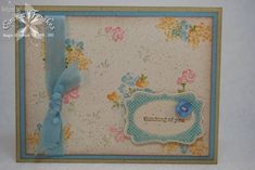 Baby Blossoms Cath Kidston-Style by Emma F - Cards and Paper Crafts at Splitcoaststampers
