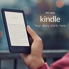Meet the Kindle, now with a built-in adjustable front light so you can read indoors and outdoors and at more times of day. Purpose-built for reading, Kindle features a glare-free touchscreen display that reads like real paper, even in direct sunlight. Best Kindle, Amazon Kindle, Amazon Official Site, Best Cyber Monday Deals, Kindle Oasis, Fire Tablet, Usb, Book Reader, Free Reading