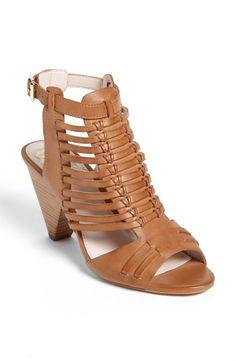 Modern take on the classic huarache sandal. Is it summer yet?