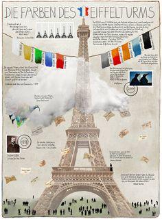 """Willy Puchner """"Die Farben des Eiffelturms""""  Siehe auch: www.willypuchner.com"""