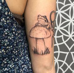 Lila Tattoos, Frog Tattoos, Dream Tattoos, New Tattoos, Body Art Tattoos, Sleeve Tattoos, Tatoos, Pretty Tattoos, Cute Tattoos